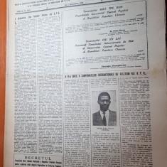 ziarul sportul popular 1 octombrie 1953-circuitul ciclist al RPR