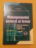 Managementul general al firmei - Tatiana Gavrila, Constantin Barbulescu