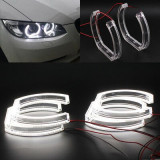 LED ANGEL EYES compatibil BMW E90, E92, E93, F30 fara lupa. Lumina alba LEDAE02