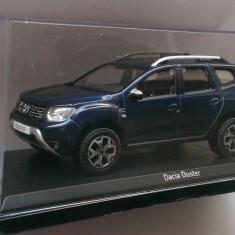 Macheta Dacia Duster 2018  albastru - noua, Norev 1:43