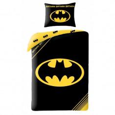 Lenjerie de pat copii Cotton Batman BM-4001BL-200 x 140 cm