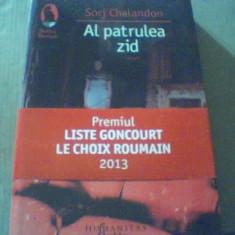 Sorj Chalandon - AL PATRULEA ZID { Humanitas, 2014 }