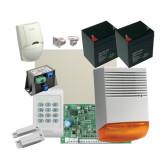 Kit alarma la efractie DSC PC1404 cu sirena exterioara