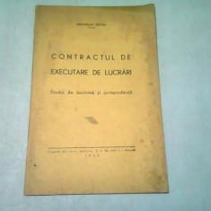 CONTRACTUL DE EXECUTARE DE LUCRARI. STUDIU DE DOCTRINA SI JURISPRUDENTA - GHEORGHE SELTEN