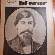 universul literar 29 iunie 1930-alecu russo,interviu ionel teodoreanu