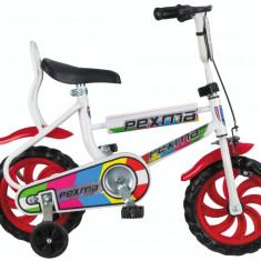 """Bicicleta Copii Vision Pexma Culoare Alb/Rosu Roata 12"""" OtelPB Cod:201218000105"""