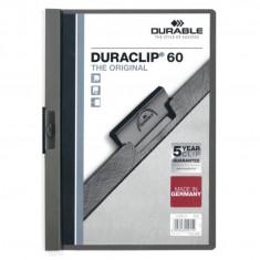 Dosar plastic Duraclip 60 Durable gri