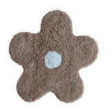 Covoraș de baie maro deschis steluță Alegra