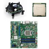 Kit placa de baza second hand Intel DQ77MK, G860, Cooler