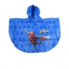 Pelerina de ploaie pentru baieti Setino Spider Man 751-144AL1, Albastru