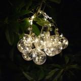 Cumpara ieftin Ghirlanda-instalatie de interior-exterior cu 10 becuri LED, 2m