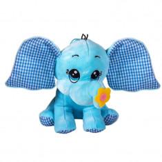Jucarie de plus elefant, 43 cm, Albastru