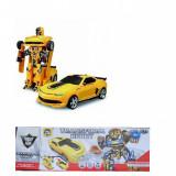 Masina Robot transformabila, 4-6 ani, Plastic, Baiat