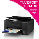Multifunctionala A3+ Epson EcoTank L14150, Inkjet, color, Wireless, ADF, ecran LCD