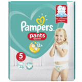 Scutece chilotel Pampers Pants Carry Pack Nr 5, 12-17 kg, 22 buc.