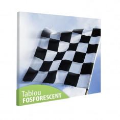 Tablou fosforescent Steagul competitiilor