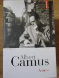 ACTUALE-ALBERT CAMUS
