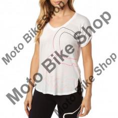 MBS FOX GIRL T-SHIRT EYECON V-NECK, white, DXS, Cod Produs: 18526008XSAU
