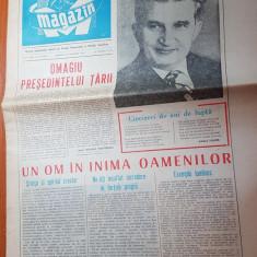 magazin 22 ianuarie 1983-ziua de nastere a lui ceausescu,omagiu presedintelui