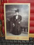 FOTOGRAFIE VECHE PE SUPORT DE CARTON , L.A. HIRSCH , PLOESCI