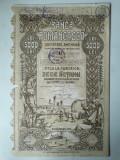 5000 Lei 1920 Banca Romaneasca actiuni vechi / Romania 246660