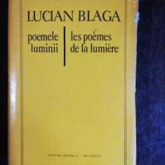 POEMELE LUMINII - LUCIAN BLAGA