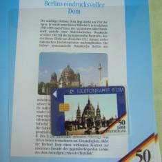 """3 Cartele Telefonice """"50 Jahre Deutschland"""" - Exponate NOI / 16"""