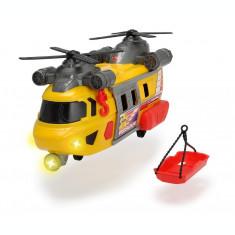 Elicopter pentru interventie cu sunete si lumini 30 cm