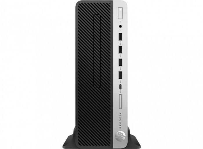 PC Desktop HP ProDesk 600 G4 SFF i3-8100 3.60 GHz, 8GB, 256GB SSD, UHD 630, W 10