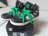 DC Shoes REBOUND SE Youth negru/verde/alb marimea 38