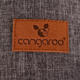 Marsupiu multifunctional multiple pozitii I carry Dark Grey, Cangaroo