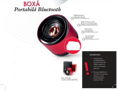 Boxa portabila bluetooth cu microfon incorporat - Oriflame - NOU foto