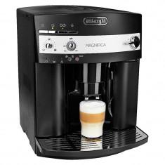 Espressor automat DeLonghi Magnifica ESAM3000B, 1450 W, 15 bar, 1.8 l, 2 duze, rasnita 13 trepte, Negru