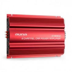 Auna C500.6 amplificator auto- 6 canale, 6 x 65 W RMS