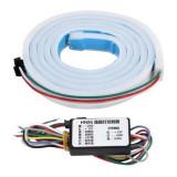 Banda de semnalizare LED cu 2 culori si montare la portbagaj