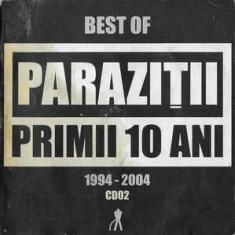 CD Paraziții – Primii 10 ani vol. 2, original