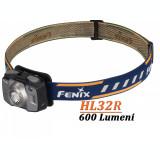 Lanterna Frontala HL32R 600 Lumeni Fenix Albastru