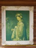 Tablou reproducere pânză Rembrandt - Saskia as Flora