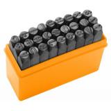 Set punctatoare litere Tolsen, 6 mm, 27 bucati