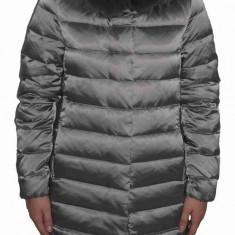 Jacheta textil dama, din poliamida, marca Geox, W8425M-F3188-M0-06, verde 38
