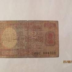 CY - 2 rupees rupii 1985 India