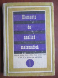 Elemente de analiza matematica Manual pentru clasa XII liceu Caius Iacob