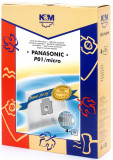 Sac aspirator Panasonic C-2E, sintetic, 4X saci, KM