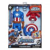 FIGURINA AVANGERS TITAN HERO BLAST GEAR: CAPTAIN AMERICA 30 CM, Avengers