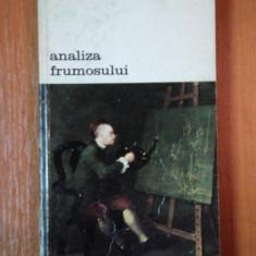 ANALIZA FRUMOSULUI de WILLIAM HOGARTH 1981