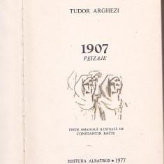 TUDOR ARGHEZI - 1907 PEIZAJE ( EDITIE OMAGIALA ILUSTRATA DE CONSTANTIN BACIU )