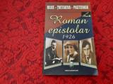 ROMAN EPISTOLAR RILKE-TVETAIEVA-PASTERNAK RF18/1, Lucian Blaga