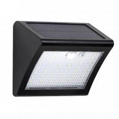Lampa de perete 42 leduri SMD SO cu senzor de miscare si de lumina panou solar