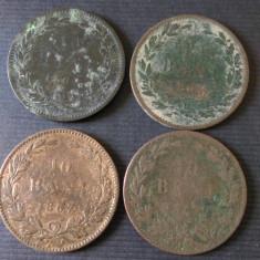LOT 4 MONEDE 10 BANI 1867