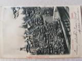 Carte postala clasica Sinaia, in relief, perfecta, necirculata, 1900, rarisima